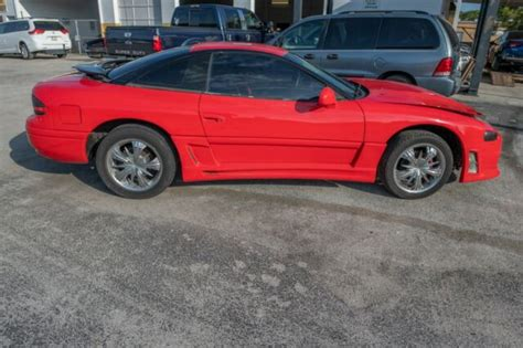 old car repair manuals 1994 dodge stealth lane departure warning 1994 dodge stealth es 6 cyl 5 speed 155k left front damage no reserve for sale photos
