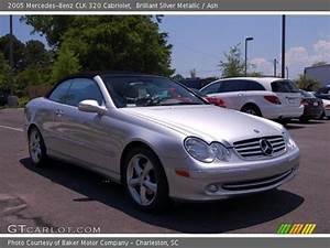 Mercedes Clk 320 Cabriolet : brilliant silver metallic 2005 mercedes benz clk 320 cabriolet ash interior ~ Melissatoandfro.com Idées de Décoration