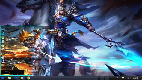 custom theme mobile legend untuk windows 7