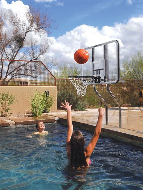 Basketball And Volleyball For Inground Swimming Pools