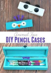 Back to School Supplies Pencil Case DIY
