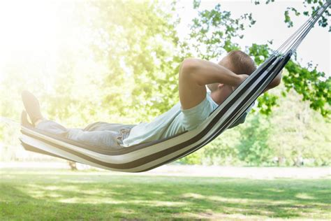 Sleeping Hammock by Why Being Rocked Will Help You Sleep Better