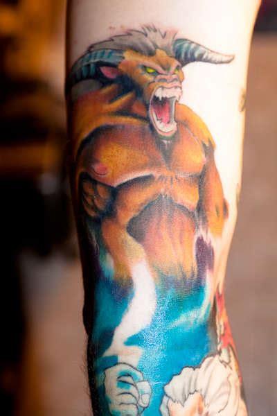 minotaur tattoo