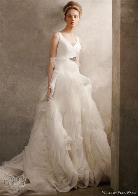 Vera Wang White Wedding Dresses 2011 Collection