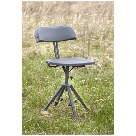 guide gear 360 degree swivel blind chair 300 lb