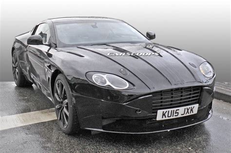 first aston martin aston martin rolls out first db11 prototype carscoops