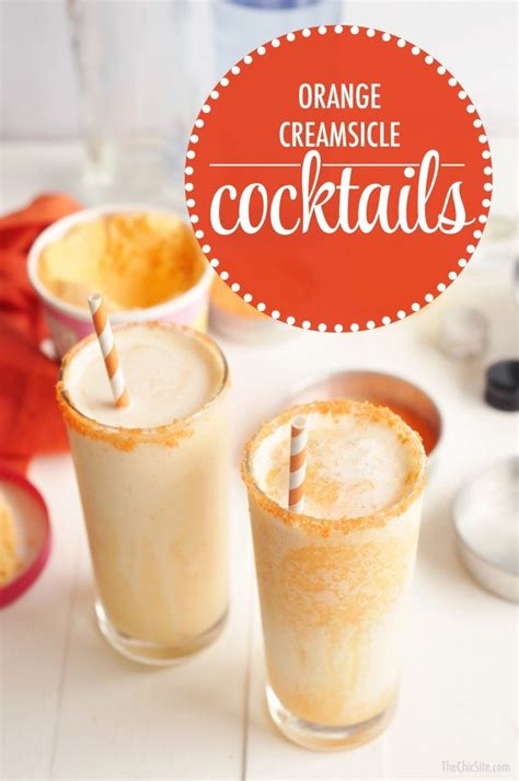 orange creamsicle drink orange creamsicle cocktails the chic site