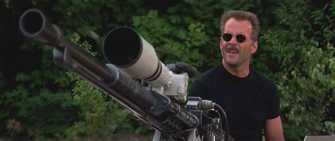 Bruce Willis In The Jackal With A Super Sniper (?)