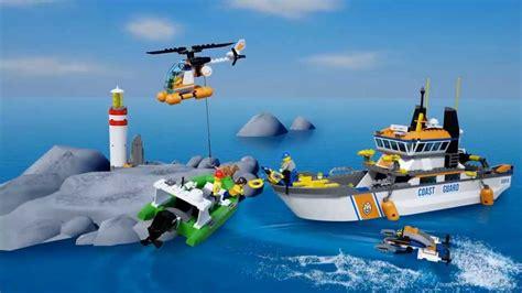Imagenes De Barcos De Lego by Lego City 60014 Barco De Guardacostas Youtube