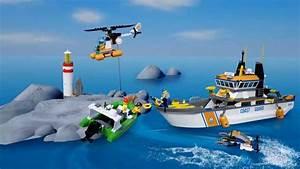 Vidéos De Lego : lego city 60014 barco de guardacostas youtube ~ Medecine-chirurgie-esthetiques.com Avis de Voitures