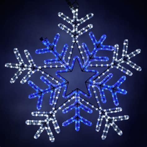 snowflakes stars  led snowflake  blue center