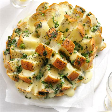 savory party bread recipe taste of home