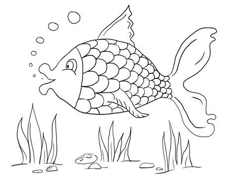 sketsa mewarnai gambar ikan mewarnai terbaru lucu