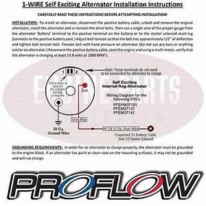Ford Falcon Xd Xe Xf 6 Cyl 250 Proflow Chrome Alternator