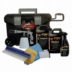 Kit Lavage Voiture : kit de nettoyage tornador ~ Dallasstarsshop.com Idées de Décoration