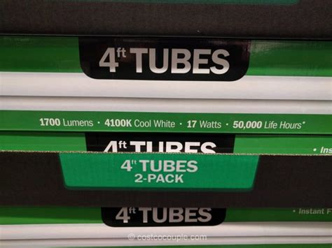 led tube lights costco feit electric 4 ft led tubes