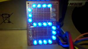 Arduino Uno   74hc595   Uln 2803   Afficheur Led 7