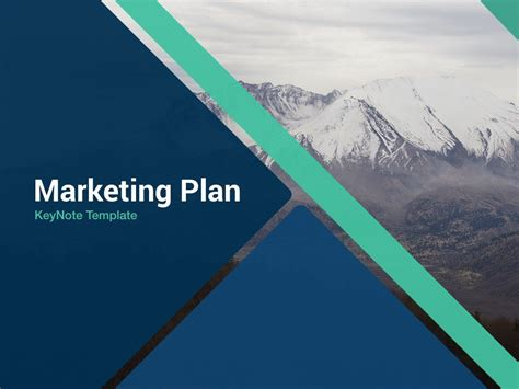 marketing plan  keynote template  keynote