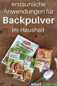 Soda Zum Backen : 15 ungew hnliche anwendungen f r backpulver life hacks lifehacks and household ~ Frokenaadalensverden.com Haus und Dekorationen