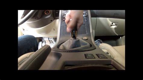 diy  manual shift knob remove removal youtube