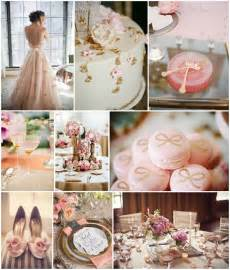 wedding ideas vintage pink and gold wedding ideas