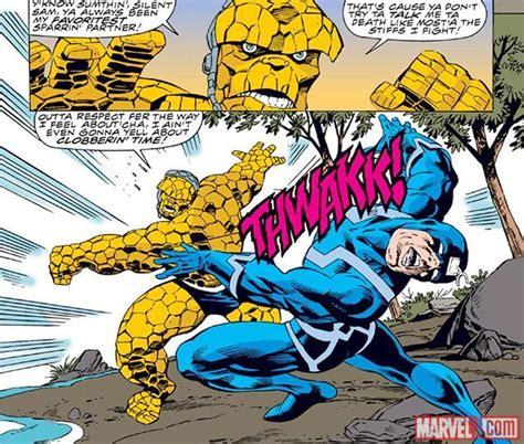 Namor vs Thing - Battles - Comic Vine