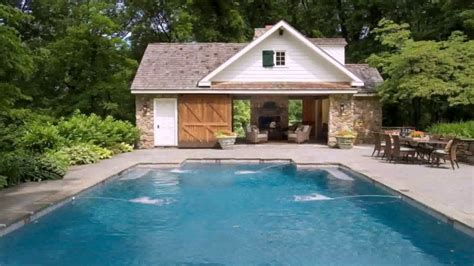 Pool House Floor Plan Ideas