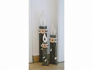 Weihnachtsdeko Aus Holz : kerze aus holz klein ~ Whattoseeinmadrid.com Haus und Dekorationen