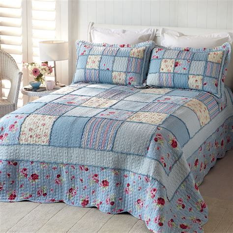 blue country bedding home collections