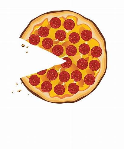 Pizza Clipart Slice Clip Transparent Salami Pepperoni