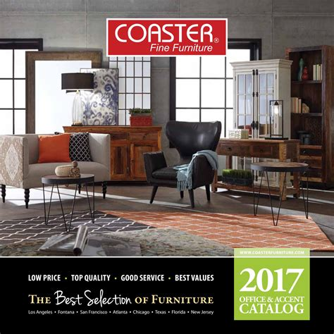 Coaster Furniture Florida by 2017 Coaster Office And Accents Catalog By Seaboard