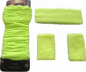 Neon UV Headbands Sweatbands Wristbands Legwarmers Any