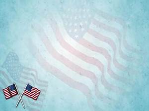 American Flag Ppt Background American Flag Day 02 Powerpoint Templates