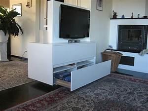 Raumteiler Mit Tv : hifi m bel wei individuelle fertigung home ~ Yasmunasinghe.com Haus und Dekorationen
