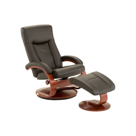 leather swivel recliner with ottoman top grain leather swivel recliner with ottoman mac