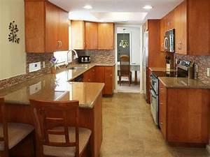 galley kitchen remodel 1964