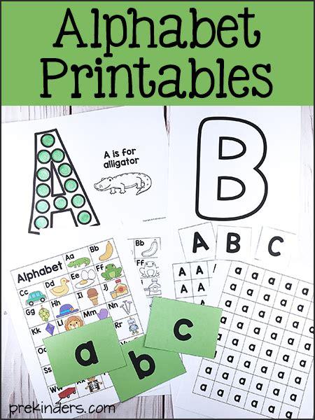 prekinders ideas amp resources for pre k amp preschool teachers 824 | alphabet printables preschool2