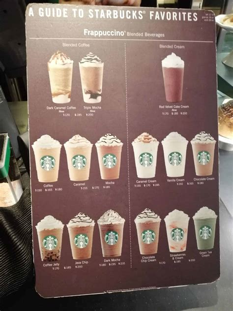 Summer hasn't ended at starbucks philippines, as it. Starbucks Menu (2020) — Starbucks Coffee Prices, Food & More