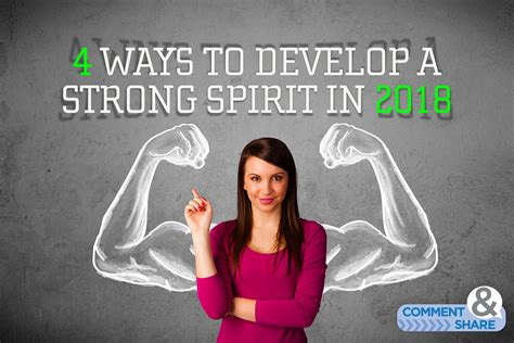 4 Ways To Develop A Strong Spirit In 2018  Kenneth