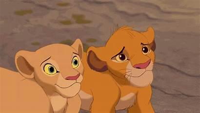 Smile Disney Gifs Simba Nala Double Guaranteed