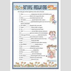 Past Simple  Irregular Verbs Worksheet  Free Esl Printable Worksheets Made By Teachers