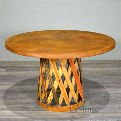 equipal chairs style dining mexican table