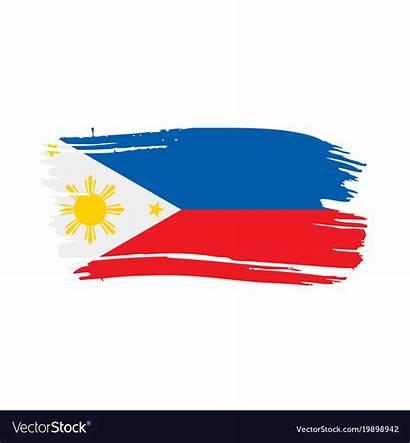 Flag Philippines Vector Royalty Vectorstock Vectors
