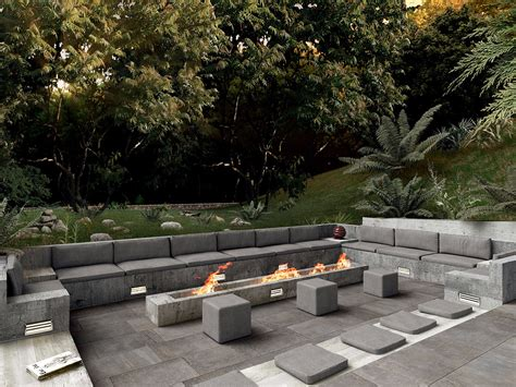 tile that looks like wood magical outdoor pit seating ideas area designs