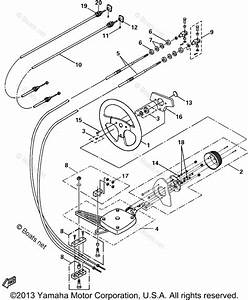 Yamaha Boat Parts 2000 Oem Parts Diagram For Steering