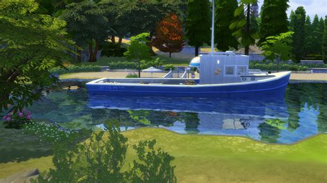 Houseboat Ocean by Mod The Sims The Ocean Waves Houseboat On The Lake