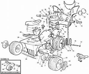Power Wheels Hawk Parts