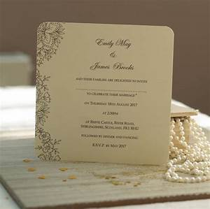 39vintage lace39 wedding invitations by beautiful day With lace wedding invitations cheap uk