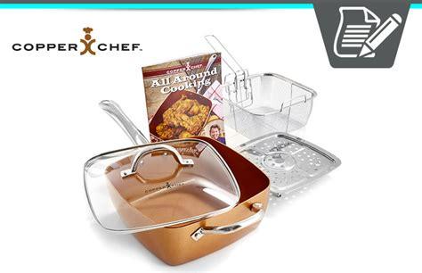 copper chef xl review unique square design pans cookware