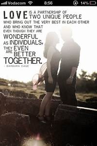 Love is a partnership | Love & Relationships | Pinterest